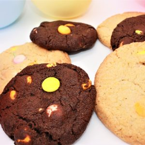 celebration smartie cookies