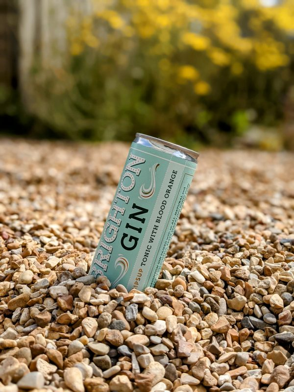Can of Brighton Gin Collins