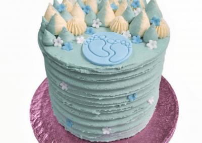 customer celebration baby shower cake