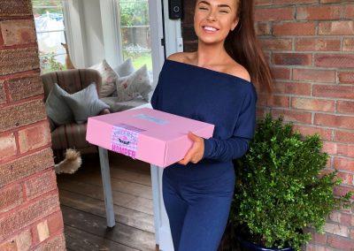 Demi Jones delivery