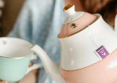 Pot and cup of tea