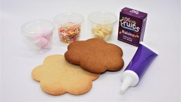 autumn little piglets cookie decorating set